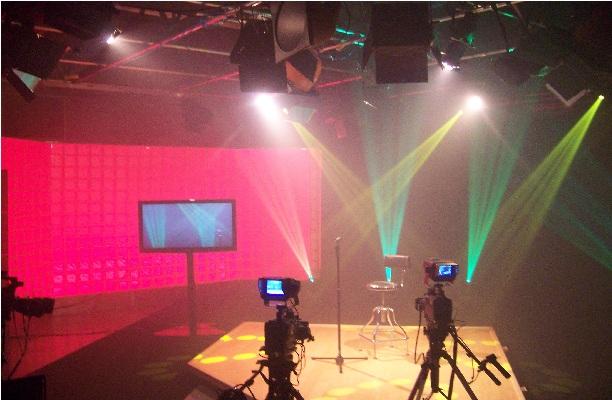 CTN Television Production Set