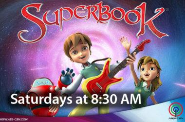 Superbook CTN TV Saturdays and 8:30AM